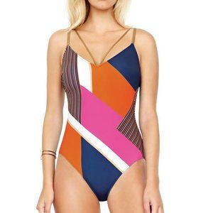 Gottex Maritime One Piece Swimsuit NWT Size 8